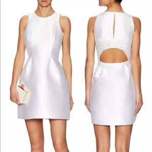 Kate Spade bubble dress open back embellished bow